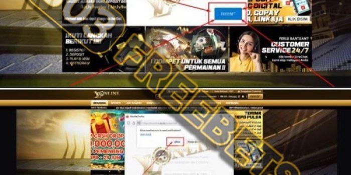 FREEBET GRATIS RP 20.000 SLOT TANPA DEPOSIT LVOnline