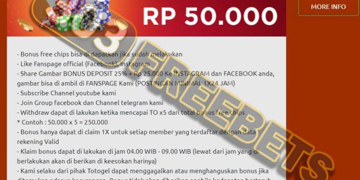 Situs TOTOGEL Freebet Gratis Togel Rp 50.000 Tanpa Deposit #1